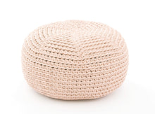 Load image into Gallery viewer, handmade crocheted POUF for KIDS