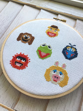 Load image into Gallery viewer, The Muppets Sampler Counted Cross Stitch DIY KIT