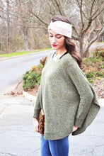 Load image into Gallery viewer, Lincoln Sweater Poncho