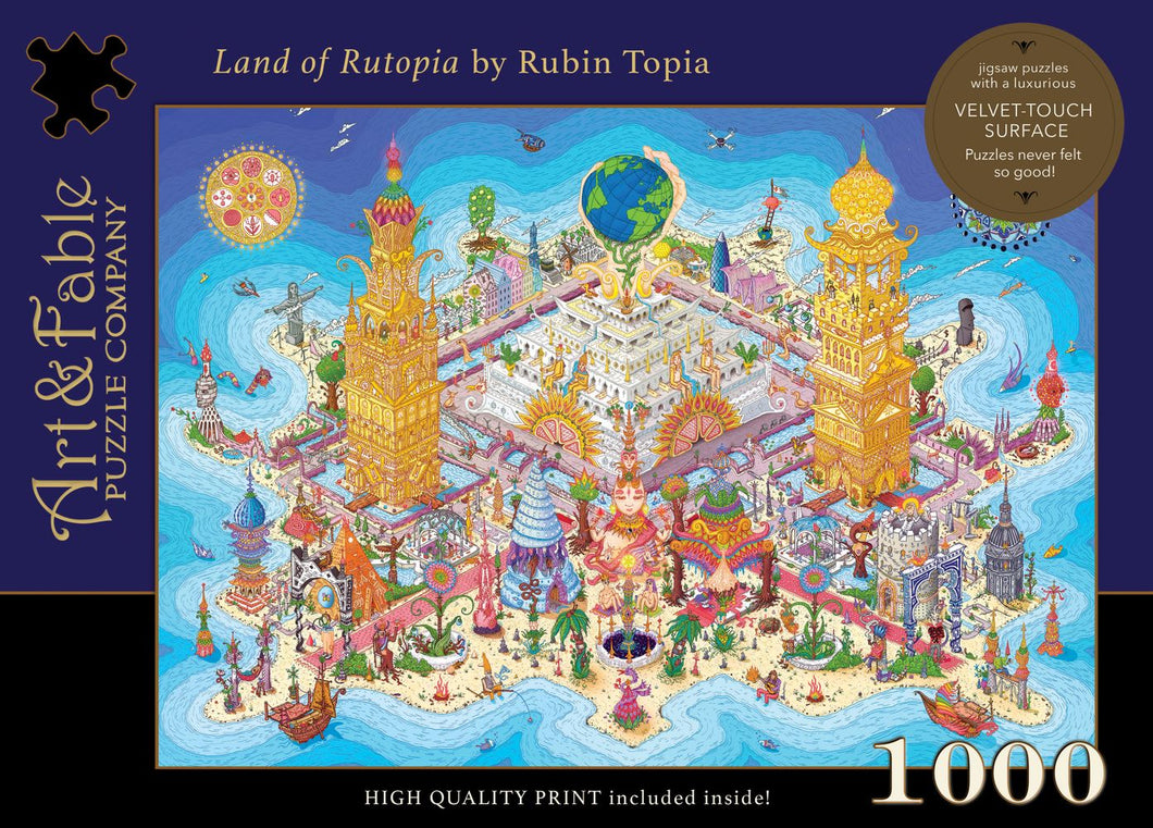Land of Rutopia, 1000-pc Jigsaw Puzzle