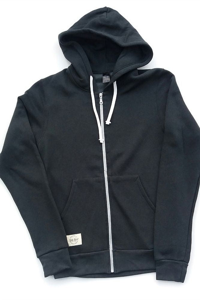 Unisex Bamboo Hoodies - Charcoal Grey