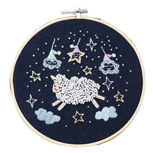 Load image into Gallery viewer, Cute Cartoon Animal DIY Embroidered Accessories Kit Star Series Embroidery Materials Package Craft Embroidery Making Supplies