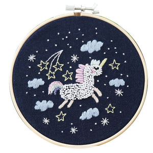 Cute Cartoon Animal DIY Embroidered Accessories Kit Star Series Embroidery Materials Package Craft Embroidery Making Supplies