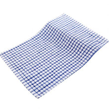 Load image into Gallery viewer, Soft Plaid Tea Towel Absorbent Kitchen Table Dishcloth Cotton Cleaning Cotton Table Napkins Kitchen Dishcloth Placemats cloth ra