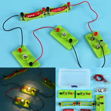 Load image into Gallery viewer, Kids Science Toy Basic Circuit Electricity Learning Physics Educational Toys For Children STEM Experiment Hands-On Ability Toys
