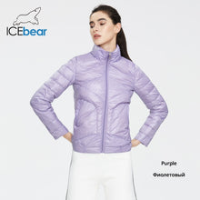 Load image into Gallery viewer, ICEbear 2020 Women Spring Lightweight Down Jacket Stylish Casual Women Jacket Female Collar Women Clothing GWY19556D