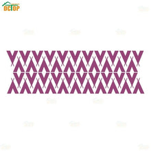 Load image into Gallery viewer, Nordic Style Tepees Triangles Vinyl Wall Sticker Removable wallpaper For Kids Room Tribal Tents Art Decor Mural DIY Wall Decals
