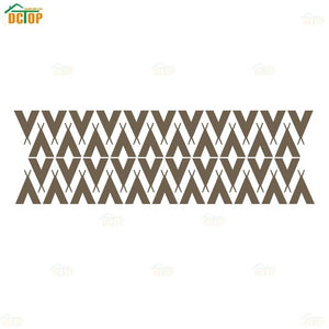 Nordic Style Tepees Triangles Vinyl Wall Sticker Removable wallpaper For Kids Room Tribal Tents Art Decor Mural DIY Wall Decals