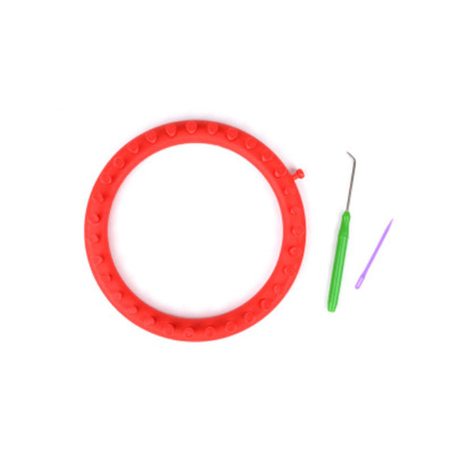 Sewing Manual Circular Sock Craft Tool Handmade Home Circle Scarf PP Knitting Looms Suture Needle Round DIY