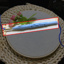 Load image into Gallery viewer, DIY Landscape Rainbow Punch Needle Embroidery Kit with Hoop Punch Needle Cross Stitch Handwork Set for Beginner kids Home Decor