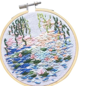 10 kinds DIY Knitting Wool Rug Hooking Kit Handcraft Woolen Embroidery Hand Made Gift With 15 X 15cm Frame Punch Needle