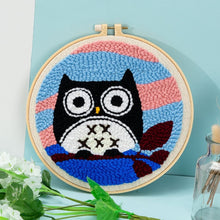 Load image into Gallery viewer, Punch Needle Pen Magic Embroidery cross stitch kits embroidery needlework sets fabric DIY Crafts Sewing Accessories tools frame