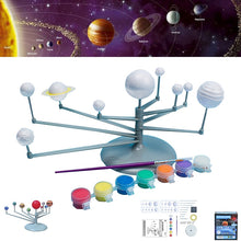 Load image into Gallery viewer, Solar System Planet Instrument Model Kit Science Toys  DIY Painting Model Planetarium Astronomy Educational Toys For Children