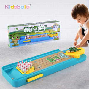 Mini Desktop Bowling Game Toy Funny Indoor Parent-Child Interactive Table Sports Game Toy Bowling Educational Gift For Kids