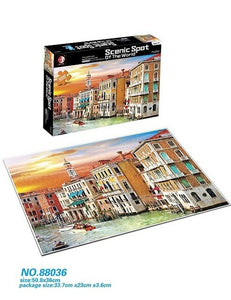 Adults and Teenagers 300 Pieces and 500 Pieces of Jigsaw Puzzles World Famous Paintings Children's Puzzle Decompression Toys