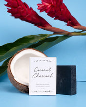 Load image into Gallery viewer, COCONUT CHARCOAL Purifying Facial Soap