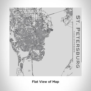 St. Petersburg - Florida Map Tumbler