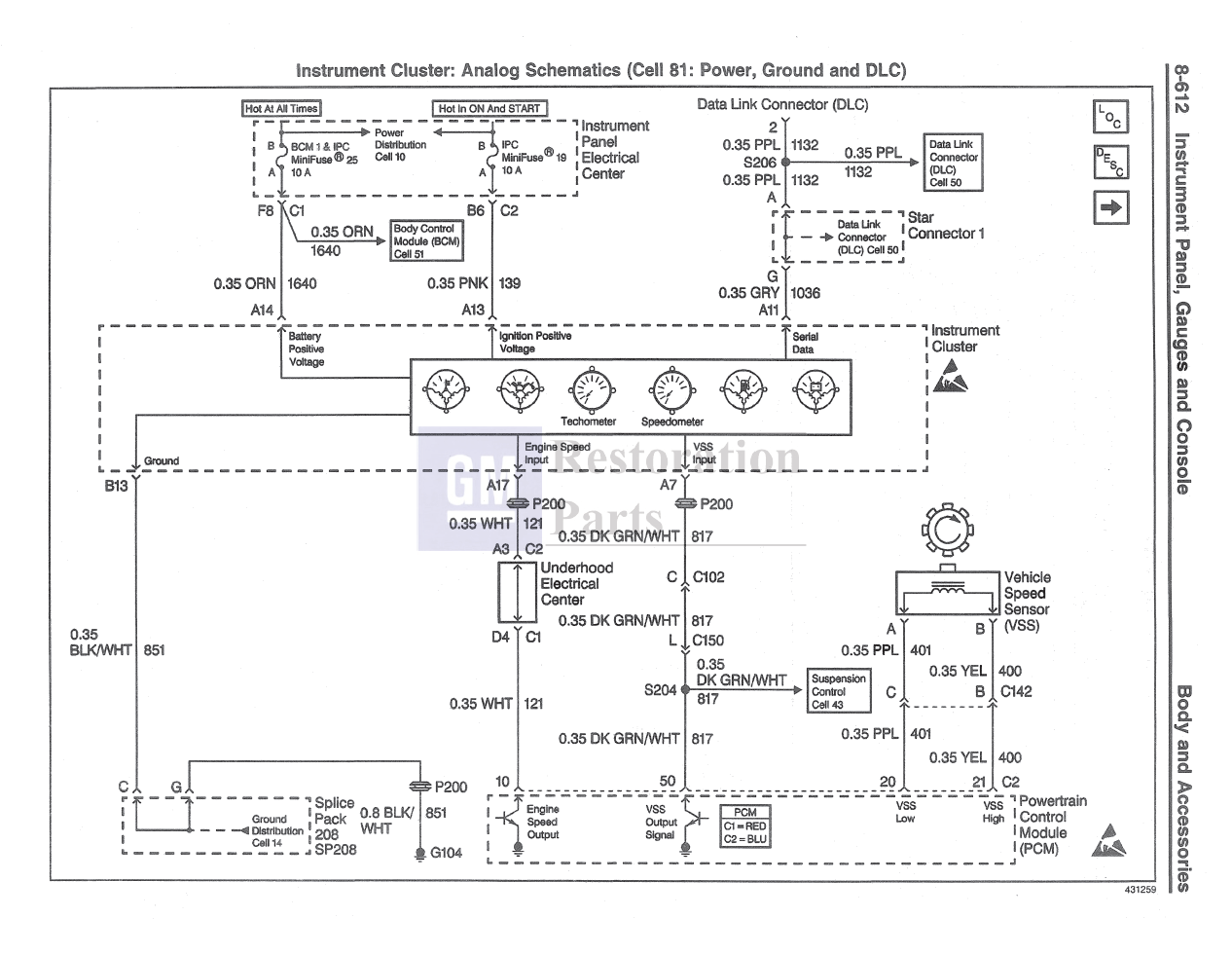[DIAGRAM] 1984 Corvette Gauge Cluster Wiring Diagram FULL