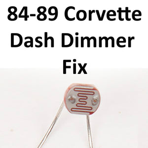 1984-1989 Corvette Photocell Dimmer Restoration Kit