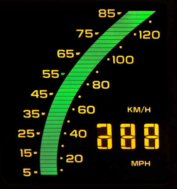 1984 Corvette Speedometer LCD (New)