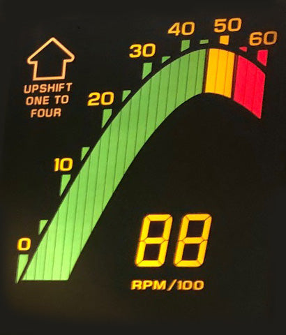 1989 Corvette Tachometer Panel (New)