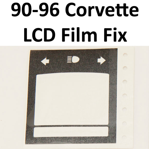 1990-1996 Corvette LCD Panel Polarizing Film Restoration Kit