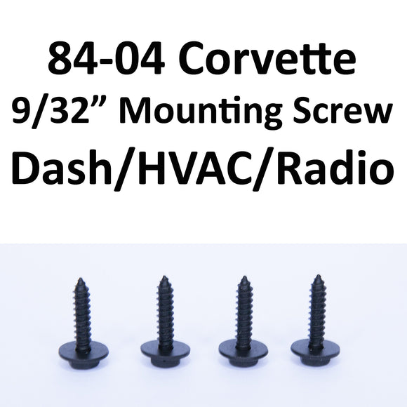 1984-1996 Corvette Mounting screws (9/32