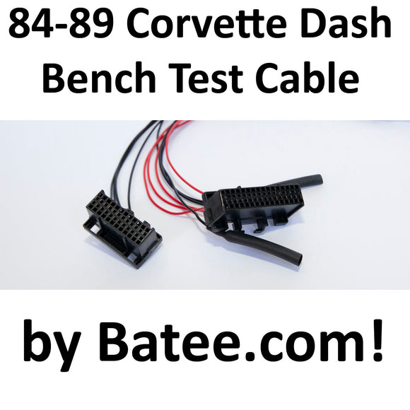 1984-1989 Corvette Digital Cluster Bench Test Power Cable v2