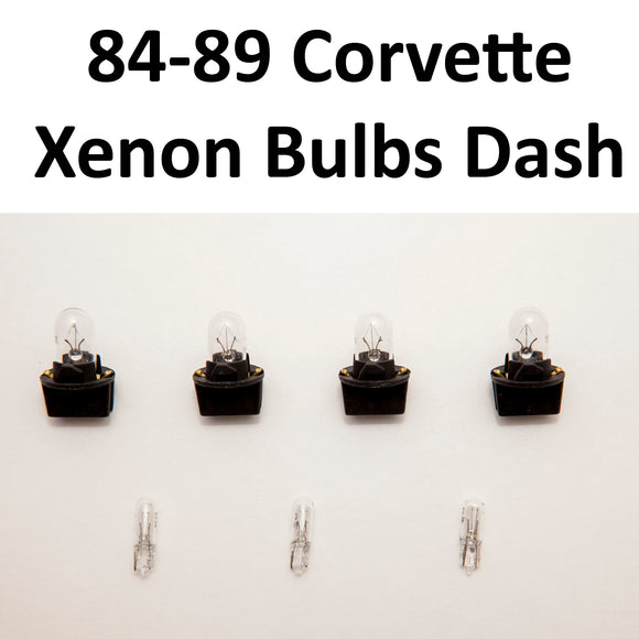 1984-1989 Corvette Xenon Bulb Kit without indicator sockets