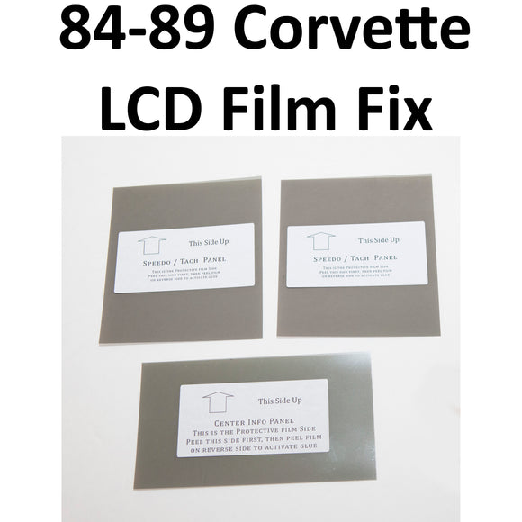 1984-1989 Corvette LCD Polarizing Film Restoration Kit