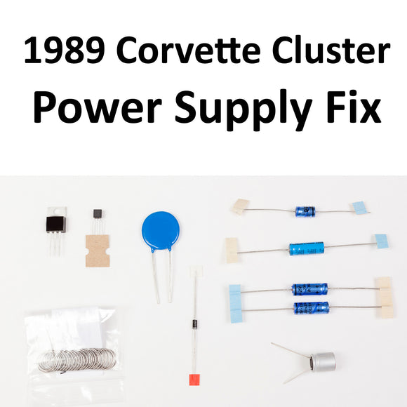1989 Corvette Instrument Panel Power Supply Repair Kit