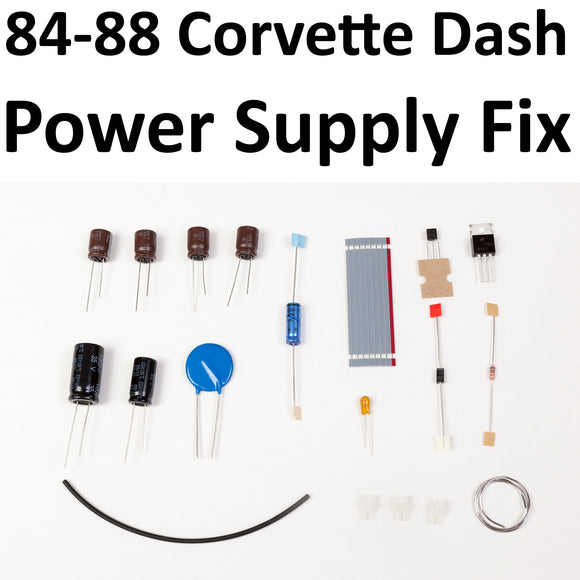 1984-1988 Corvette Instrument Panel Power Supply Repair Kit