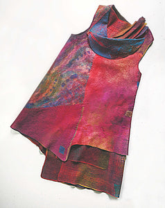 Color Collaboration Layered Tunic