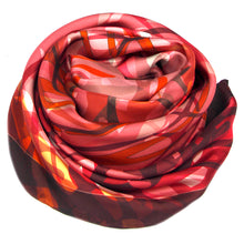 Load image into Gallery viewer, Twill silk scarf - Inspired by Rembrandt 800-527 - Ellen Bakker