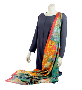 Twill silk scarf - Inspired by Monet 800-507 - Ellen Bakker