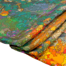 Load image into Gallery viewer, Twill silk scarf - Inspired by Monet 800-507 - Ellen Bakker