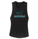 Golden Retriever Rescue of Mid-Florida Logo - Women's Tank Top