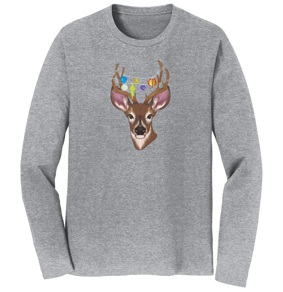 Christmas Buck - Adult Unisex Long Sleeve T-Shirt