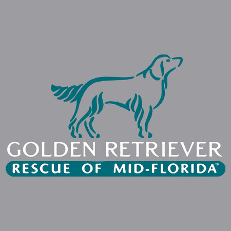 Golden Retriever Rescue of Mid-Florida Logo - Kids' Unisex Hoodie Sweatshirt