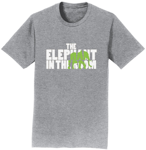 The Elephant in the Room T-Shirt | International Elephant Foundation