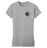 LRC Logo - Left Chest Blue - Women's Fitted T-Shirt