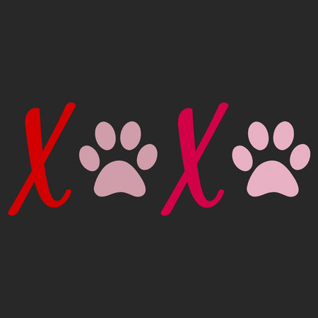 XOXO Paws - Adult Unisex T-Shirt