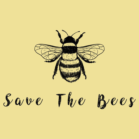 Save the Bees - Adult Unisex T-Shirt