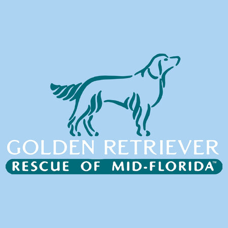 Golden Retriever Rescue of Mid-Florida Logo - Adult Unisex T-Shirt