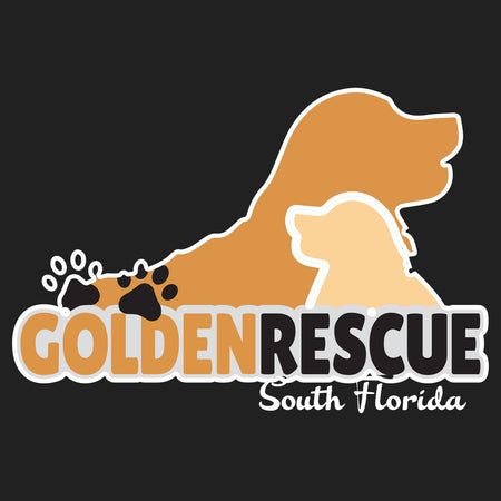 Golden Rescue South Florida Logo - Men's Tank Top