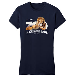 NEW Zoo & Adventure Park - Zoo Lion - Women's Fitted T-Shirt