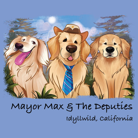 Mayor Max and Deputies - Adult Tri-Blend T-Shirt