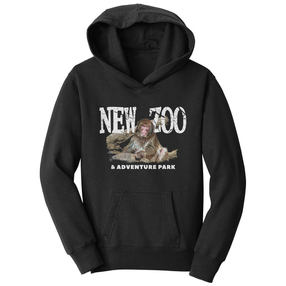NEW Zoo Japanese Macaque Monkey Art - Kids' Unisex Hoodie Sweatshirt