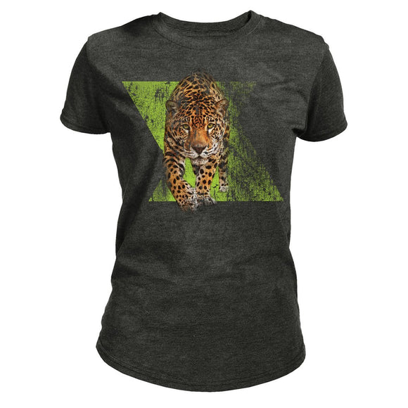 NEW Zoo & Adventure Park - Dynamic Jaguar - Women's Tri-Blend T-Shirt - Online Shop