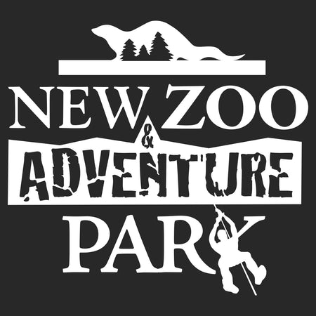 NEW Zoo and Adventure Park Black & White Logo - Kids' Unisex Hoodie Sweatshirt